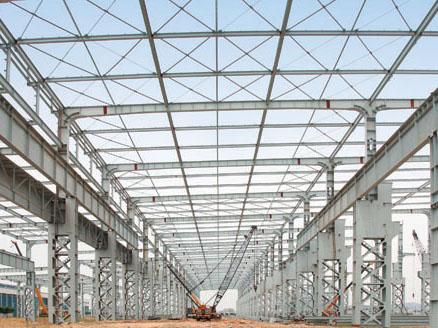 钢结构厂房施工工程